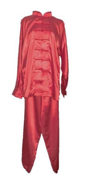 red uniform tai chi,