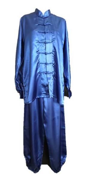 Tchaj-ťi-oblek modrý, uniforma tai chi na zakázku